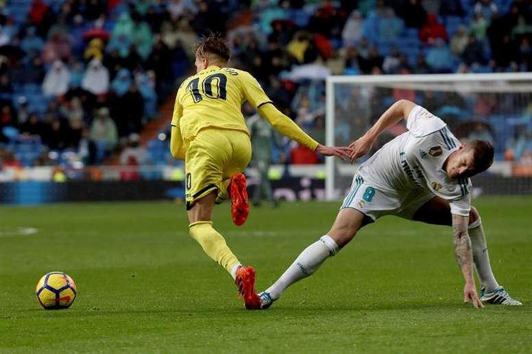 Kroos sufrió una nueva derrota de blanco. EFE