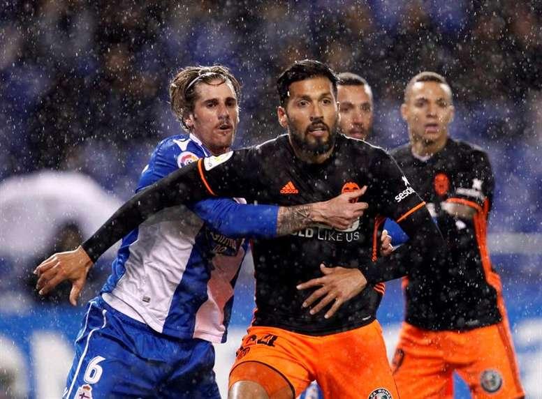 El Valencia atraviesa un buen momento. EFE