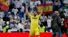 Un Villarreal al alza ganó ayer en el Bernabéu. EFE