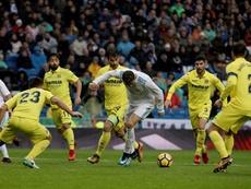 El Villarreal superó al Madrid. EFE