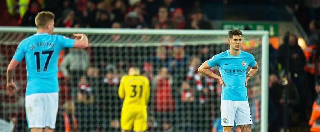 ''Me encantaría jugar contra Stones todas las semanas, ¡metería 40 goles!'', aseguró Pope. EFE