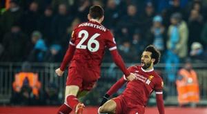Salah et Robertson incertains contre Crystal Palace. EFE