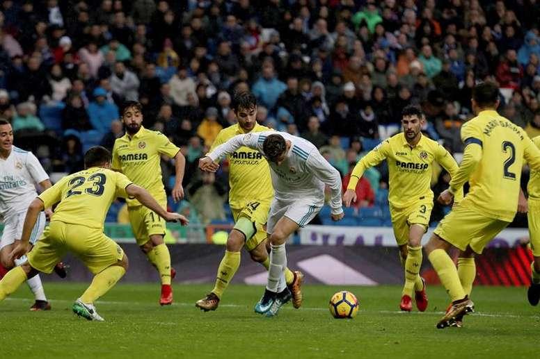 Due anni dall'ultimo goal di Cristiano nel Real. EFE