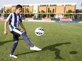 Cabrera llega en calidad de cedido al cuadro azulón. EFE/Archivo