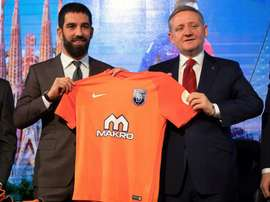 Arda Turan, o novo jogador do Istanbul Basaksehir. EFE