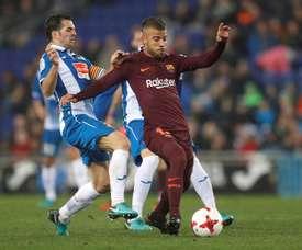 L'Espanyol a réalisé un grand travail pour s'imposer face au Barça. EFE