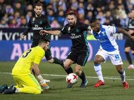 Beauvue analizó el encuentro ante el Real Madrid. EFE