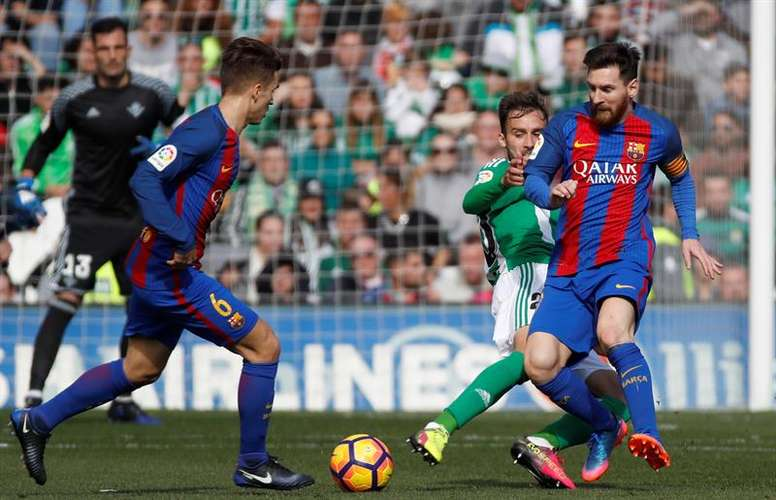 Denis Suarez, out of contention in the league. EFE