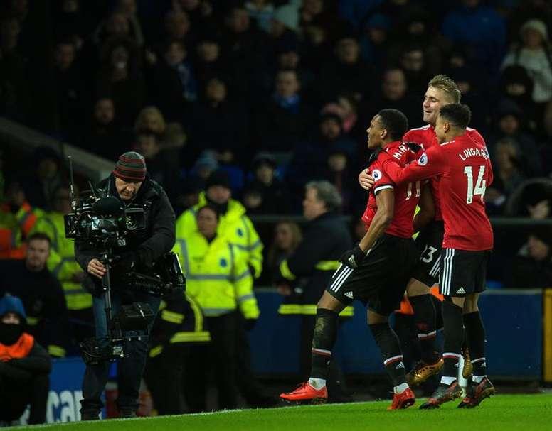 El Manchester United nunca muere antes de tiempo. EFE