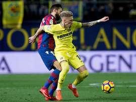 O atacante do Villarreal tem agradado nesta LaLiga. EFE