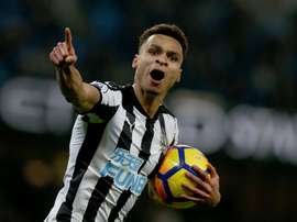 Newcastle goleou Southampton. EFE