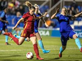 España ha vencido en un amistoso a Holanda. EFE