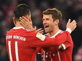 Müller y Lewandowski resolvieron la papeleta. EFE
