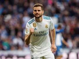 Nacho, prestes a renovar pelo Real Madrid. EFE