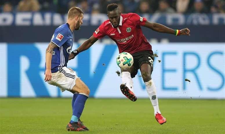 El Schalke no pudo con el Hannover. EFE/EPA