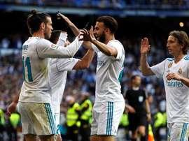 O Real Madrid precisa reduzir seu grupo para buscar reforços. EFE