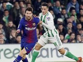 Messi partage le même score que Pione Sisto. EFE