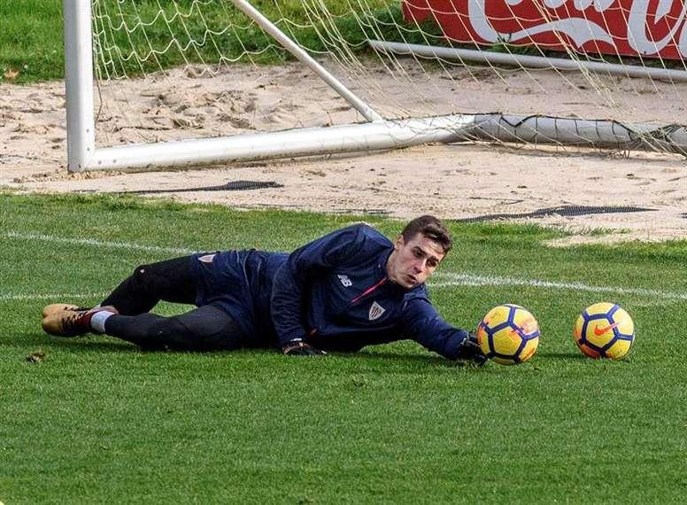 Kepa não vai ser jogador do Real Madrid. EFE