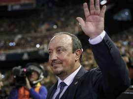 Benitez received high praise from his captain. EFE/Archivo