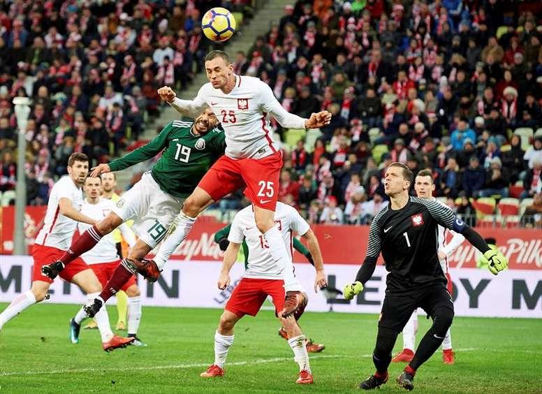 Polonia se medirá a Chile en un amistoso. EFE/Archivo