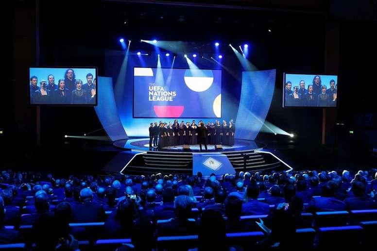 Todo lo que debes saber del sorteo de la Liga de las Naciones 2020-21. EFE