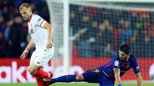 Sevilla poderá jogar a SuperCopa. EFE