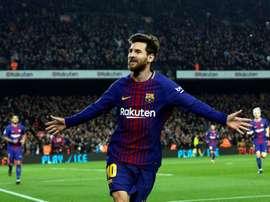 Messi is yet to score against Xerez, Murcia or Cadiz. EFE