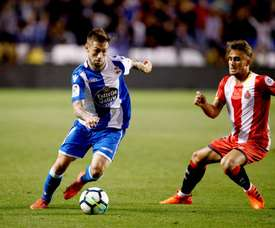 O Deportivo esteve a ganhar por dois a zero. EFE