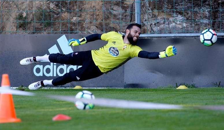 El Celta ya puede inscribir de nuevo a Sergio Álvarez. EFE/Archivo