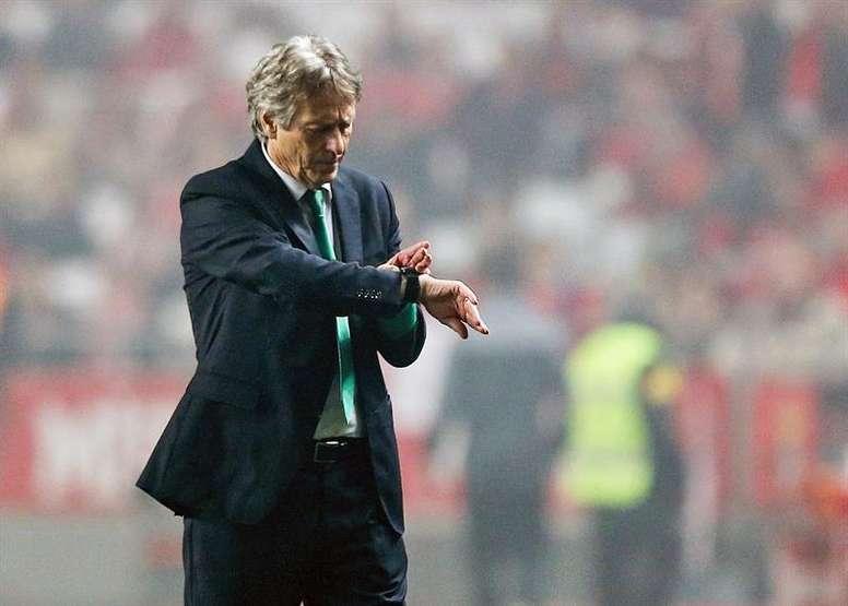 O Sporting CP recebe o Moreirense nesta segunda-feira. EFE