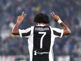 Cuadrado has recently returned from injury. EFE/Archive