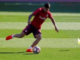 Augusto arrivera à l'Atléti en janvier 2016. ClubAtleticoDeMadrid