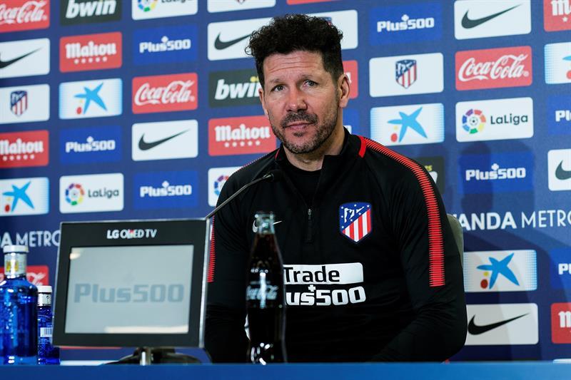 Simeone es suspendido tres partidos en la Copa del Rey