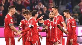 Le programme de la 29ème journée de Bundesliga. EFE