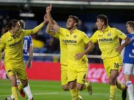 Víctor Ruiz prefiere cnetrarse en Liga y no pensar en Europa. EFE
