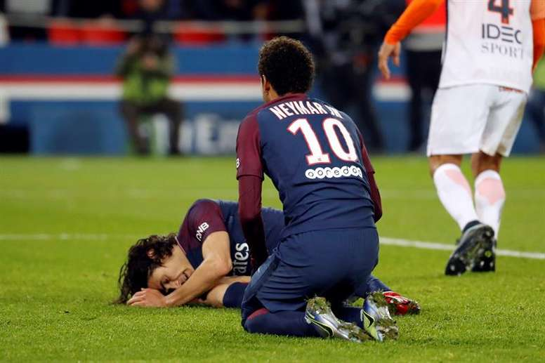 PSG: Cavani misses Toulouse game. EFE