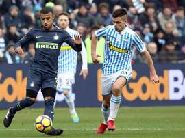 Inter frustrated after draw at SPAL. EFE