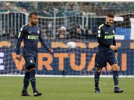 Not even Rafinha's debut could help Inter to victory. EFE