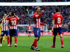 O Atlético goleou o Las Palmas neste domingo. EFE