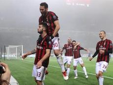 El Milan suma y sigue. EFE