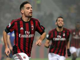 Bonaventura apontou o único gol do encontro. EFE/EPA