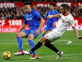 Getafe and Sevilla continue to battle for a Europa League berth. EFE