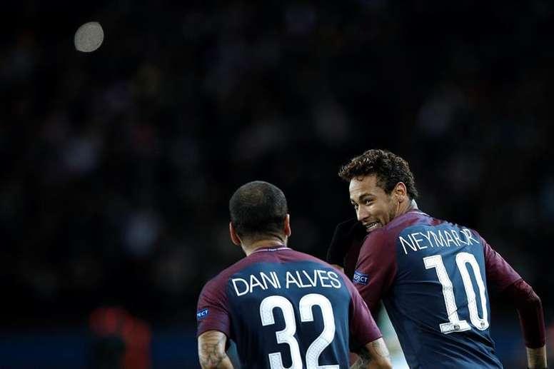 Dani Alves avait été suspendu. EFE