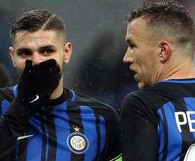 Inter quer vender trio que desvalorizou 100 milhões. EFE/Archivo