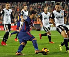 Paulista não gostou do que viu no Camp Nou. EFE