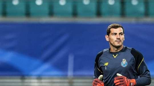 Casillas cumplió 100 partidos con el Oporto. EFE