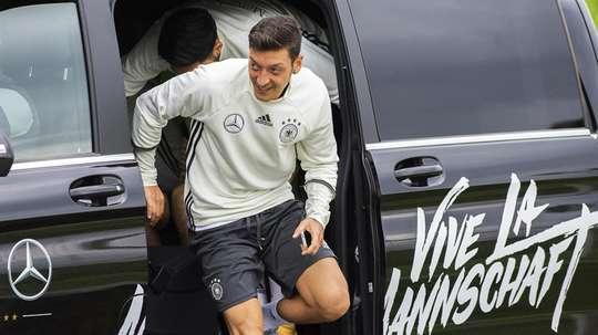 Özil, centro de las críticas en Alemania. EFE