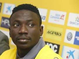 Etebo, nuevo jugador de Las Palmas. EFE