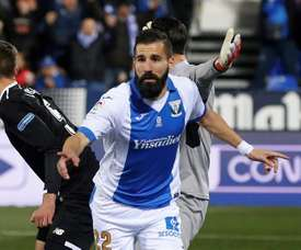 Siovas nem percebeu bem como fez o gol. EFE