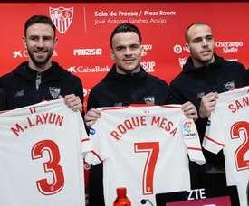 Sandro y Roque Mesa han dejado el Everton y el Swansea, respectivamente, por el Sevilla. EFE